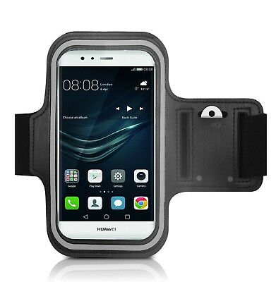 Negra 2019 DFV mobile Funda Brazalete Profesional de Neopreno Premium para Brazo Deporte Correr y Gimnasio para = Motorola Moto G7 Power