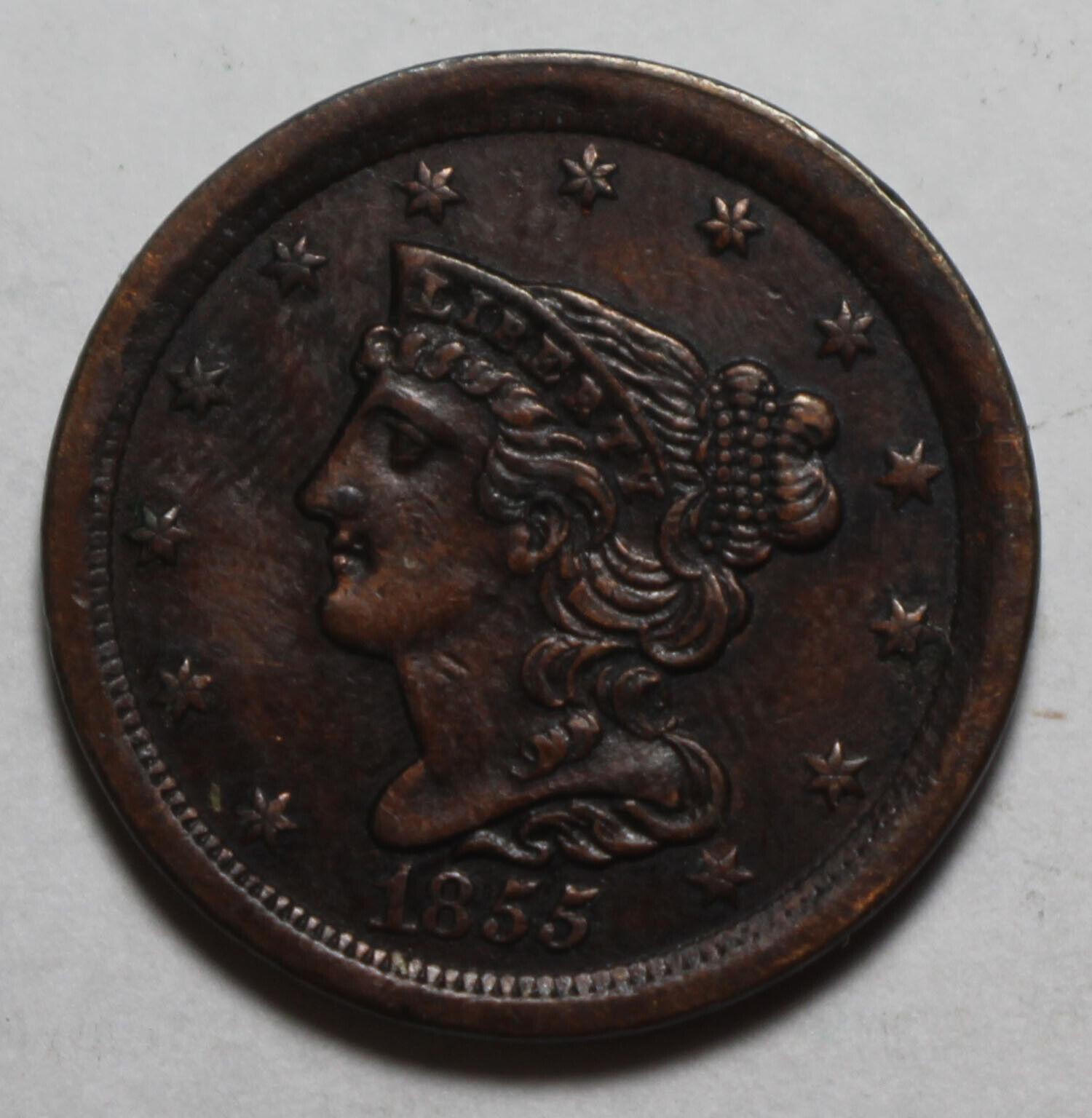 1855 US Half Cent WR486