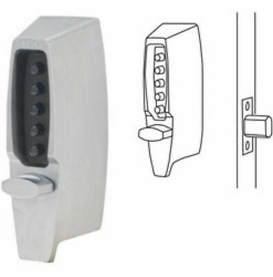 Kaba Simplex 7102-26d-41 Thumbturn Mechanical Pushbutton Deadbolt 2-34 Bs