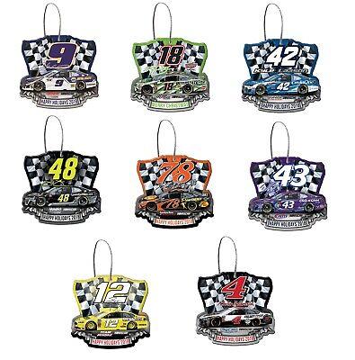 NASCAR Driver Acrylic Christmas Ornament