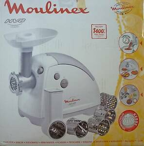 MOULINEX (France) HV8 COMBI MINCER / KEBBE ATTACHMENT A1 Con $35 Nambucca Heads Nambucca Area Preview
