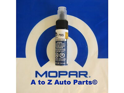 NEW 2009-2010 Dodge Charger, etc (PBS) DEEP WATER BLUE Touch Up Paint,OEM Mopar