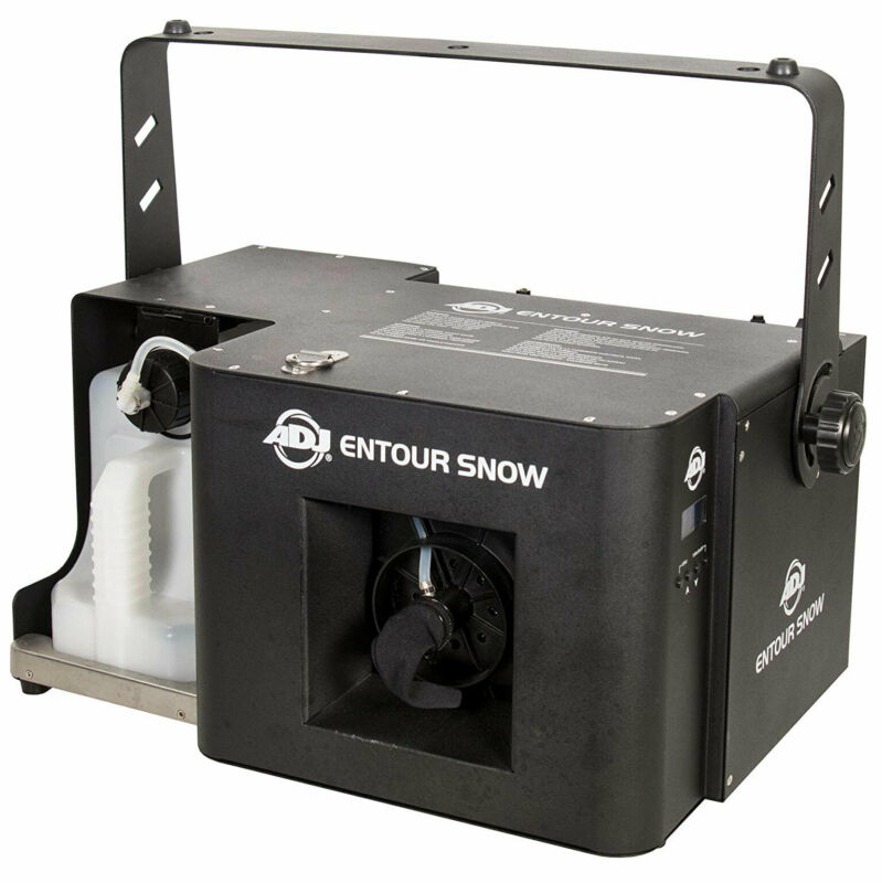 ADJ ENTOUR SNOW Professional Grade Holiday and Winter Imitation Snow Machine