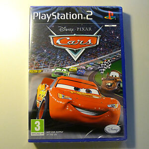 Disney Pixar Cars  (PS2) Brand New Factory Sealed Immediate Dispatch