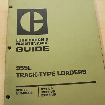 Cat Caterpillar 955l Track Crawler Loader Lubrication Maintenance Owner Manual