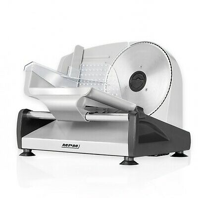 Cortafiambres Semi Profesional Acero Inox.150W Grosor 15mm Disco 19 MPM MKR-04M