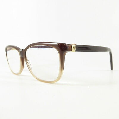 Yves Saint Laurent YSL6363 Full Rim F8788 Used Eyeglasses Frames - Eyewear