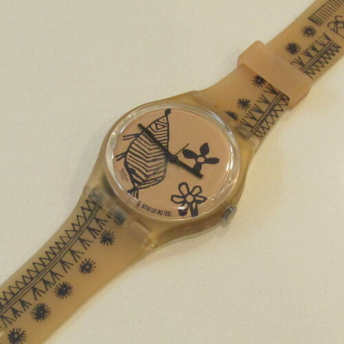 "Vintage SWATCH Watch ""Sketch"" GP106 1993  NEW Old Stock"
