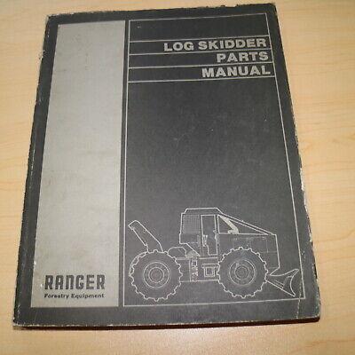 Clark Ranger 667 Wheel Log Grapple Skidder Parts Catalog Manual Book List Spare