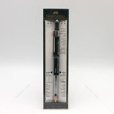 Genuine [Faber-Castell] TK Fine Vario L drafting mechanical pencil 0.3 / 0.35mm