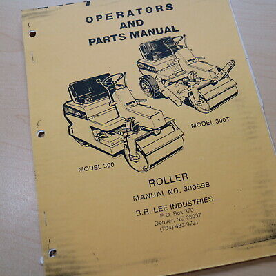 Leeboy 300 300t Roller Compactor Owner Operator Operation Maintenance Manual