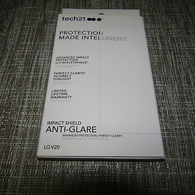 TECH21 IMPACT SHIELD ANTI-GLARE FOR LG V20, PLEASE READ!! 2941