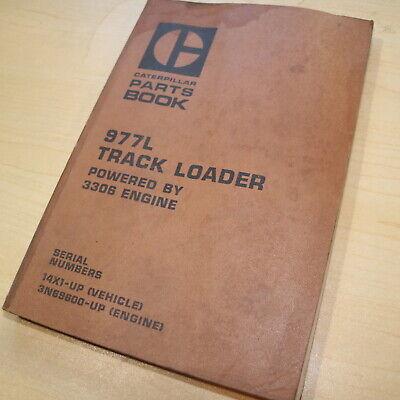 Cat Caterpillar 977l Track Crawler Loader Parts Manual Book 14x Catalog Spare