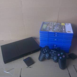 Sony Playstation 2 PS2 CONSOLE + 12 GAMES OF YOUR CHOICE Craigieburn Hume Area Preview
