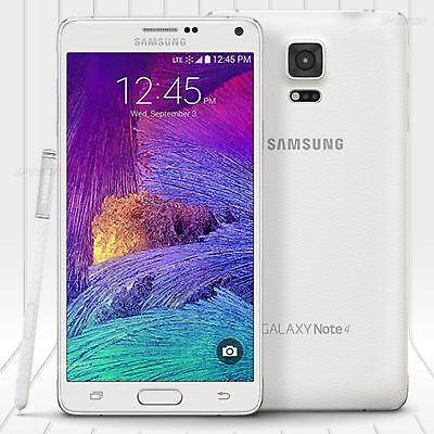 Samsung Galaxy Note 4 N910v Verizon Gsm   Cdma Unlocked Phone  32Gb  16Mp White