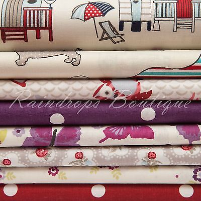 100% cotton fabric, Halloween, Children and Floral by the metre or 1/2 metre