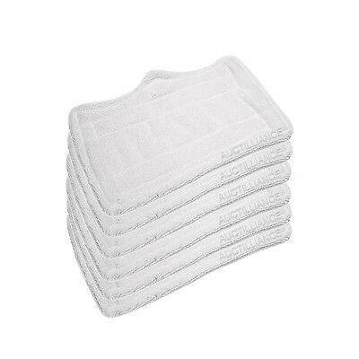 Clean Co. Steam Mop Pads for Euro Pro Shark Microfiber Pad Replacement S3101 x6 (Euro Pro Steam Mop)