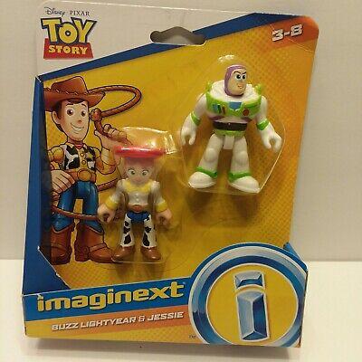 NEW Imaginext Toy Story 4 Disney Pixar Buzz Lightyear & Jessie Figures