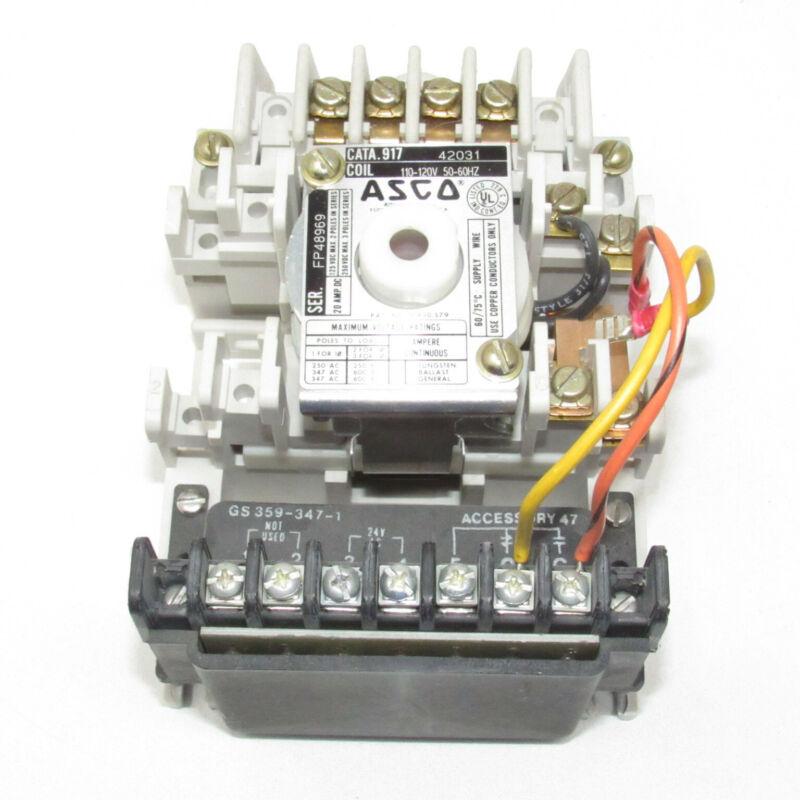 ASCO Eaton Lighting Contactor GS 359-347-1 Accessory 917 42031 91742031