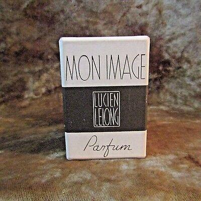 Vintage Lucien Lelong Mon Image Parfum Bottle W/Glass Case and Box/Art Deco