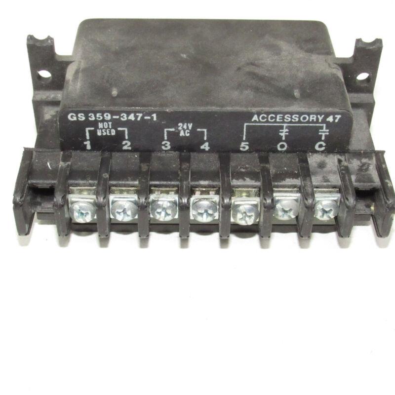 ASCO Eaton Lighting Contactor Accessory 47 GS359-347-1 GS 359