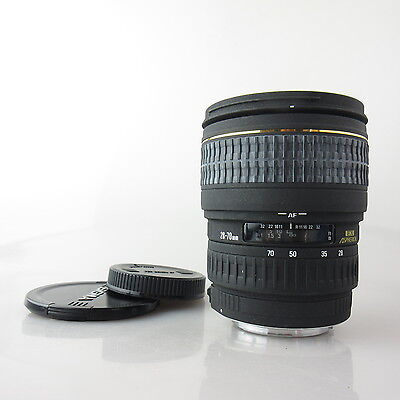 Für Canon EOS Sigma Zoom 28-70mm 1:2.8 DF EX Asphercial Objektiv / lens