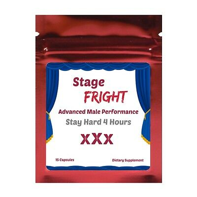 Stage Fright Male Enhancement Pills 15 Best Sexual STAMINA & LIBIDO
