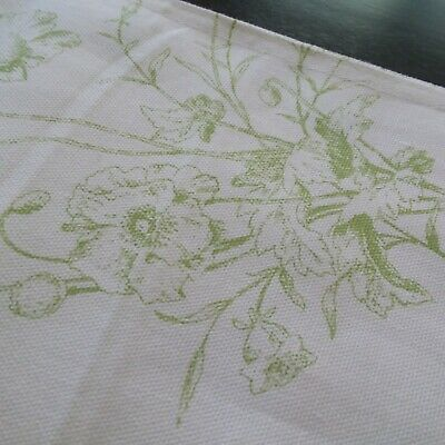 Ralph Lauren Table Runner SPRING FLOWERS 15 X 72  white green FLORAL BUTTERFLY](Spring Table Runners)