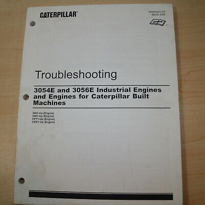Caterpillar 3054e 3056e Diesel Engine Troubleshooting Service Manual Shop Cat