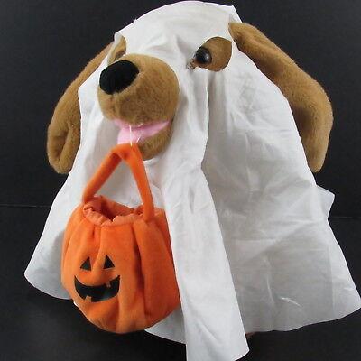 Halloween Dog Plush Sound N Light Animatronics Moves to Ghostbusters Theme Song ()