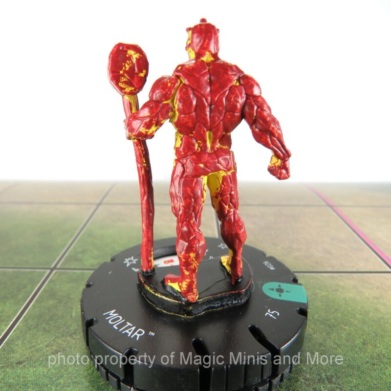 Heroclix Secret Wars Battleworld Moltar #026 Uncommon w// Card