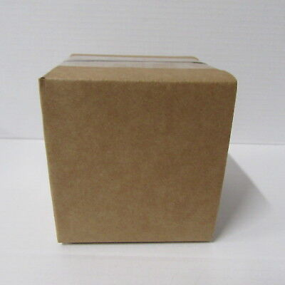 50  x  small  CARDBOARD BOXES PACKAGING  POSTAL BUNDLE OF BOXES  4 x 4 x 4 inch