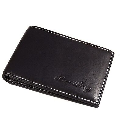 Breitling WALLET Brown Leather BEST QUALITY (Best Mens Wallets 2019)