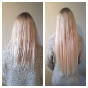 Nanolink hair extensions - wear for a year!!