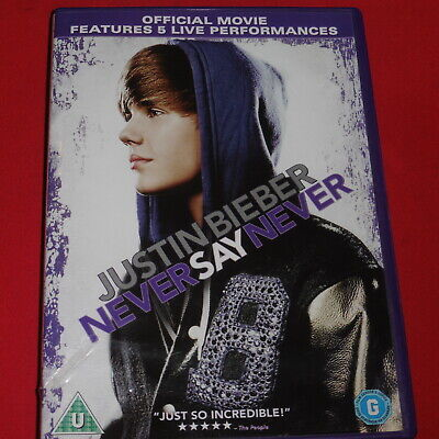 Justin Bieber DVD Never Say Never