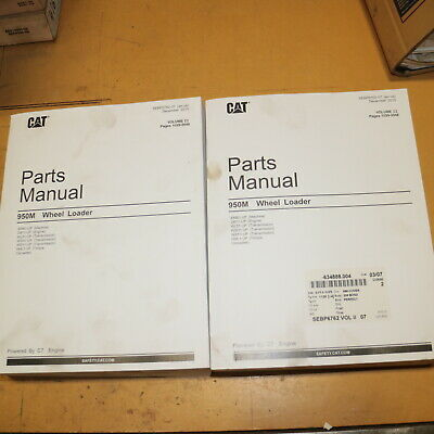 Cat Caterpillar 950m Wheel Loader Parts Manual Book Front End 2015 Catalog List
