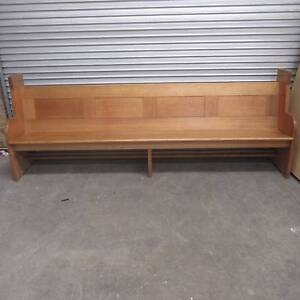 Original Church Pews - Mid Century Tasmanian Oak Moorabbin Kingston Area Preview