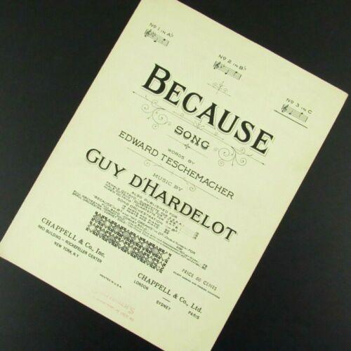 Because Sheet Music Guy D
