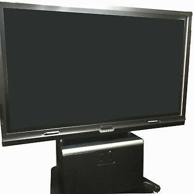 Smart Board 8084i-g4 84 Touch Display Interactive Whiteboard Camera Stand Pen