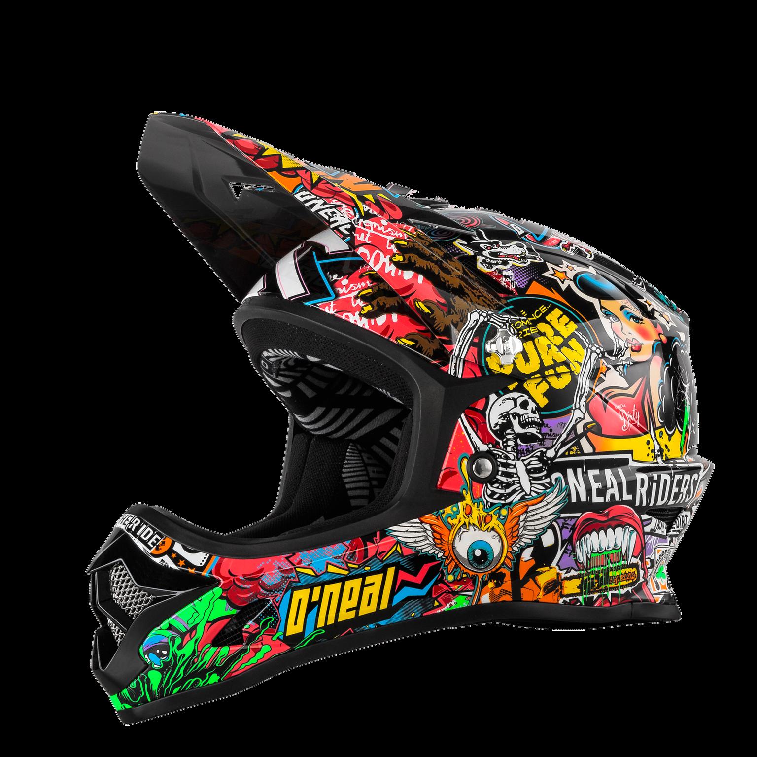 O`Neal Backflip Kinder Fullface Helm crank multi Downhill FR Dirt ONEAL  Gr. L
