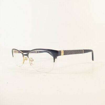 Jimmy Choo 106 Semi-Rimless U7568 Used Eyeglasses Frames - Eyewear