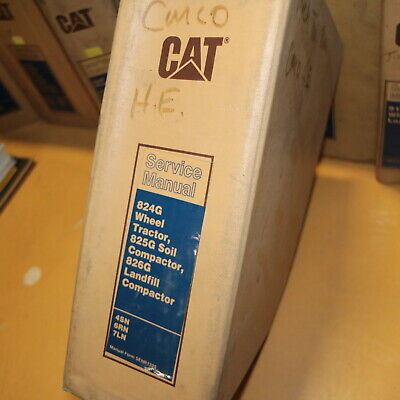 Cat Caterpillar 824g 825g 826g Soil Landfill Trash Compactor Shop Service Manual