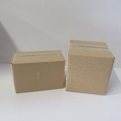 10 ROYAL MAIL  SMALL CARDBOARD POSTAL  BOXES ..  ASSORTED royal mail boxes ...,