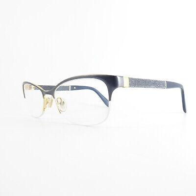 Jimmy Choo JC105 Semi-Rimless U7799 Used Eyeglasses Frames - Eyewear