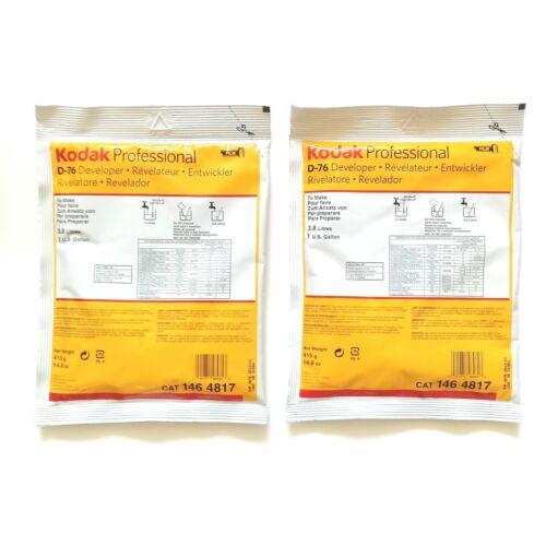 Two (2) Packs of Kodak Professional D-76 Developer (Kodak Cat 146 4817)