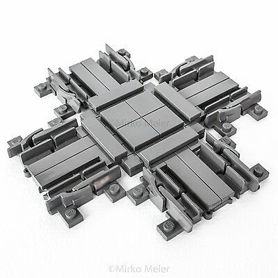 Lego® City RC Eisenbahn Kreuzung incl. Schienen und Bauanleitung ***NEU***