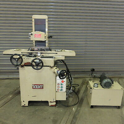 6 X 14 Kent 1 Axis Hydraulic Surface Grinder Model Kgs-6116 H