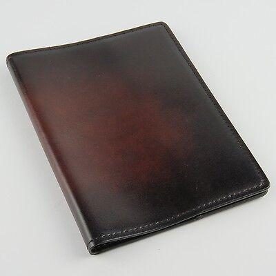 IWC Schaffhausen PASSPORT COVER Reddish Brown Leather Santoni BEST QUALITY (Best Travel Accessories 2019)