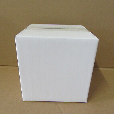 WHITE POSTAL PACKING MAILING CARDBOARD POSTAL BOX 6