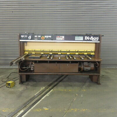 68 X 10 Ga Diacro Promecam Hydraulic Power Squaring Shear Model Gth420